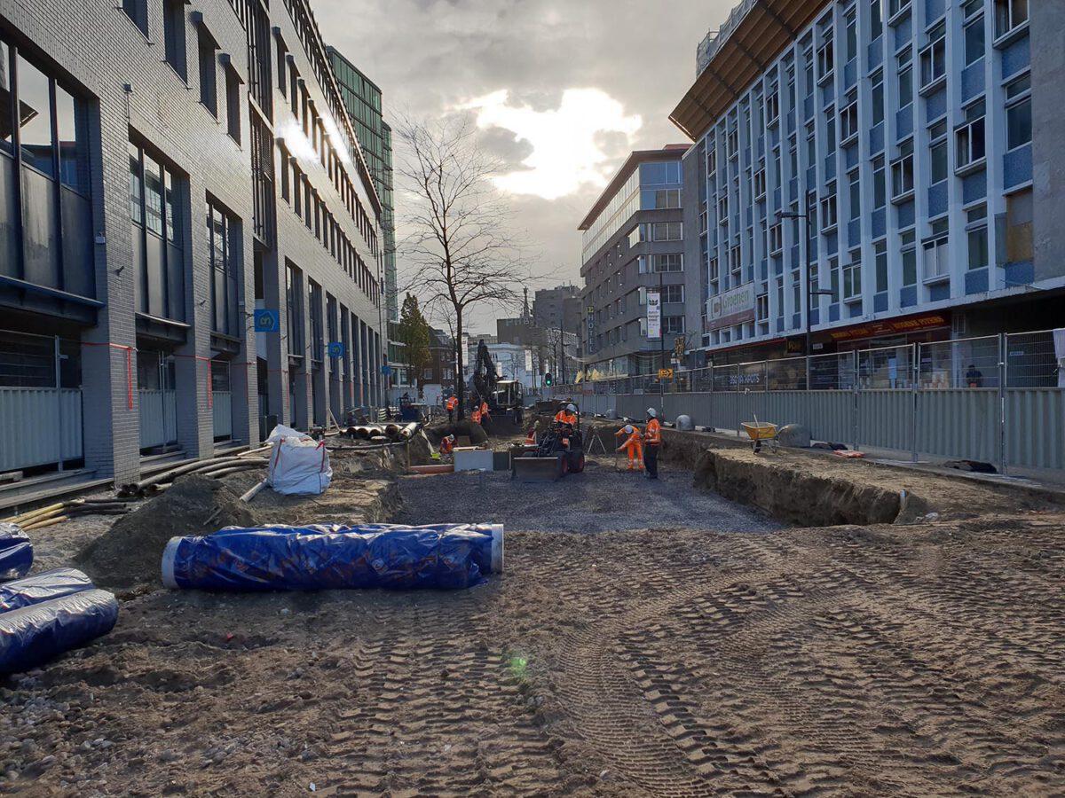 Eindhoven, reconstructie Vestdijk